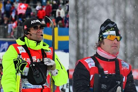 Cross Country Canada coaches Justin Wadsworth (l) and Louis Bouchard will continue to lead the Canadian cross-country ski team at the national and World Cup levels. (Photo: Cross Country Canada/Twitter)