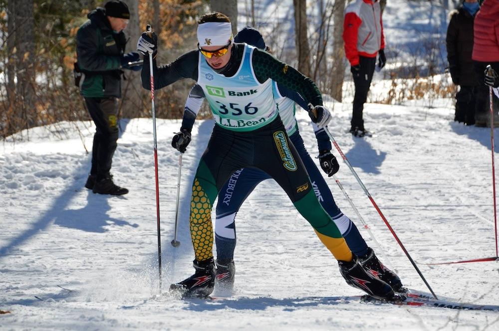 Grav racing on the EISA circuit. (Photograph: Jørgen Grav)