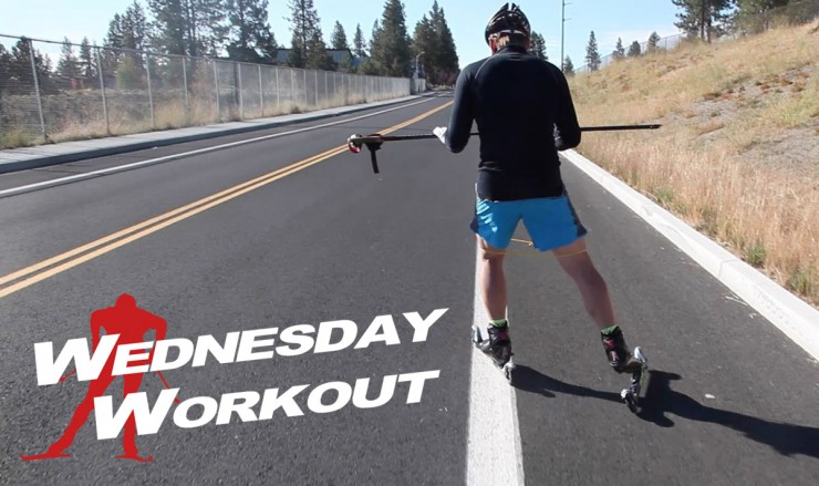 Wednesday Workout with Dave Cieslowsk: cueing and engaging the glutes while skate skiing.