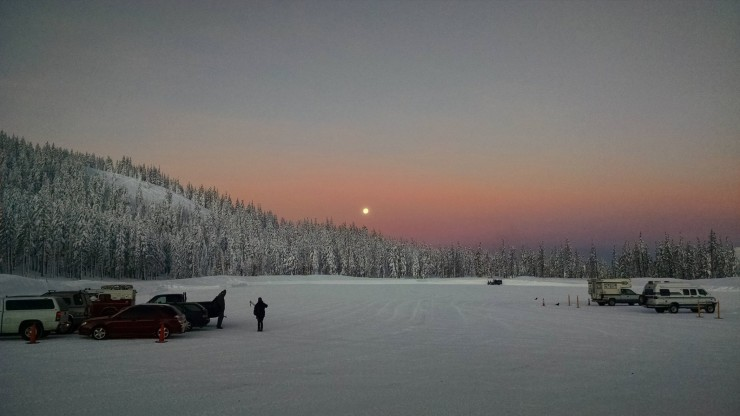 New Year's Eve at the Mt. Bachelor Nordic Center near Bend, Ore. (Photo: Rion O'Grady/Mt. Bachelor Nordic Center Facebook)