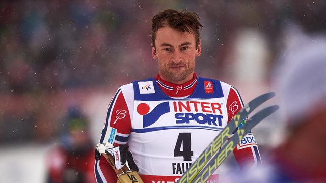 Petter Northug Jr., in Falun, Sweden. (Photograph: FIS/NordicFocus)