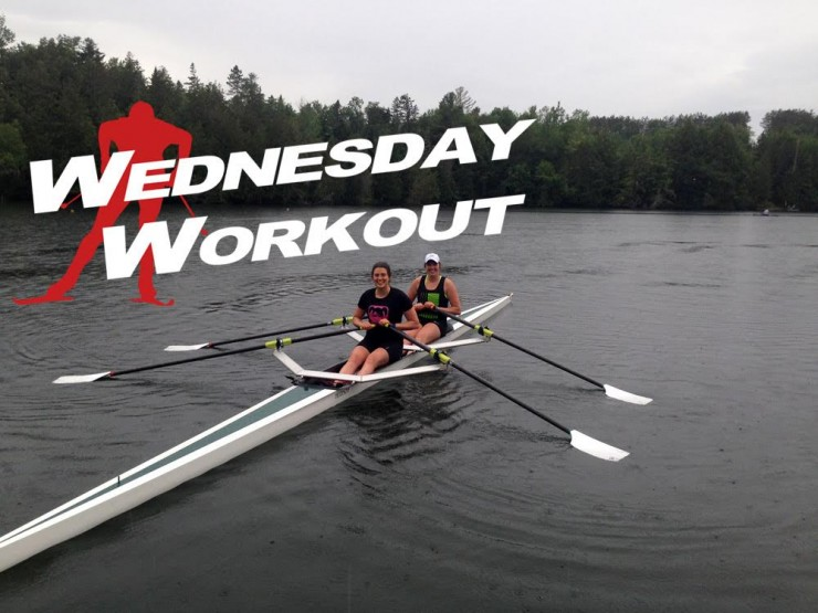 CGRP skier Heather Mooney gets out on the water with her sister, Brooke, as element of her cross instruction plan.