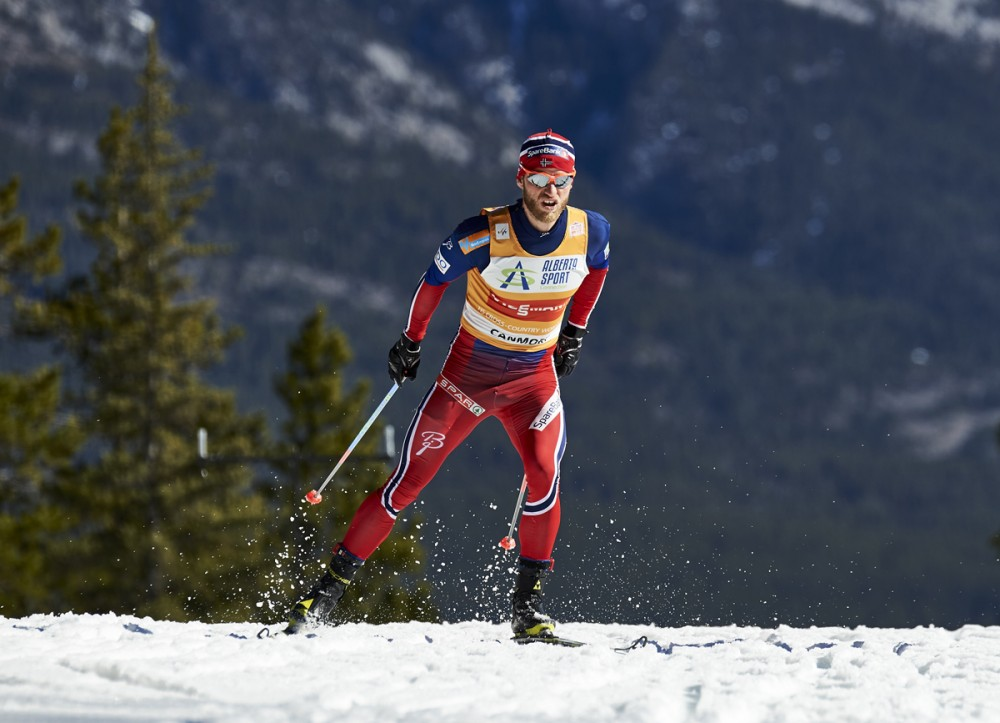 Norway's Martin Johnsrud Sundby during the men's 15k skate leg of the Ski Tour Canada in Canmore, Alberta. Sundby may not be the only Norwegian athlete who used a nebulizer to take asthma medication - even healthy athletes were apparently recommended to do so. (Photo: Fischer/Nordic Focus)