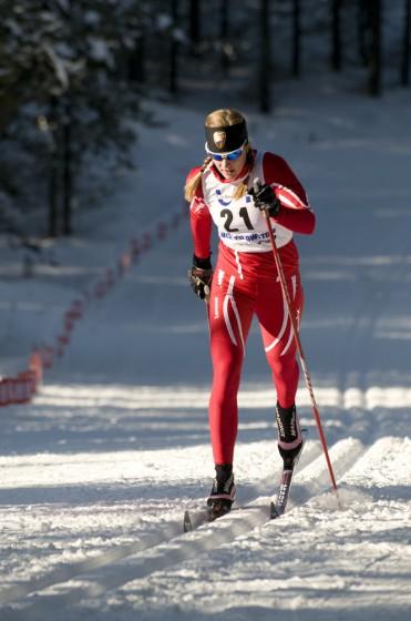 Former Bridger Ski Foundation (BSF) elite team racer Kristina Trygstad-Saari was recently named head coach of the BSF elite nordic team. (Photo: Doug Edgerton)