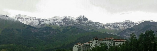 Day 2 of snow in Telluride, photo by Visit Telluride