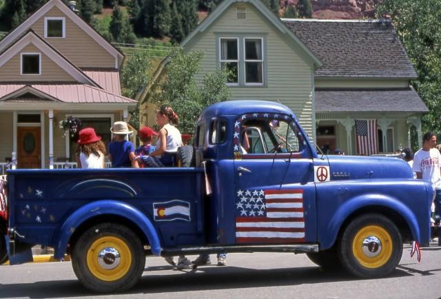 Telluride Blue Pickup