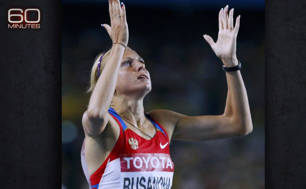 "Yuliya Stepanov, a former Russian track and field athlete who admitted to using several steroids and then became a whistleblower bringing the Russian doping scandal to light. She was cleared by the IAAF to compete in the 2016 Olympics as a ""neutral"" athlete after having fled Russia. (Photo: CBS News)"