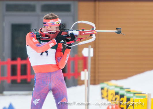 Durtschi competing at 2016 U.S. National Championships in Fort Kent, Maine. (Courtesy photo)