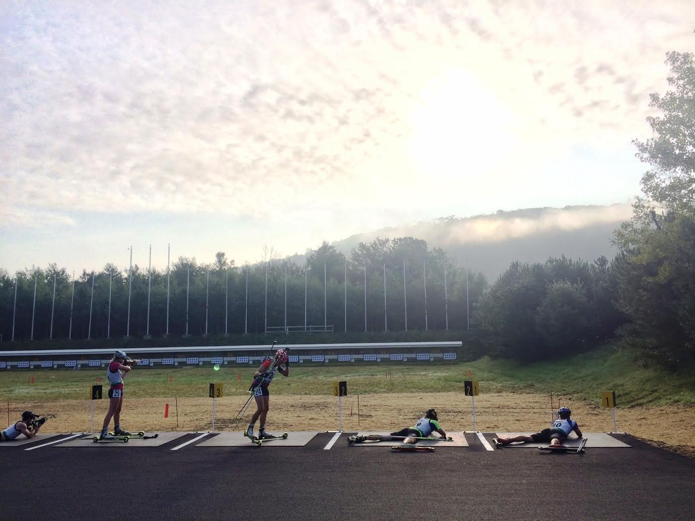 The see from the assortment at the North American Rollerski Cup race this summer season in Jericho, Vermont. (Photograph: Sam Dougherty)