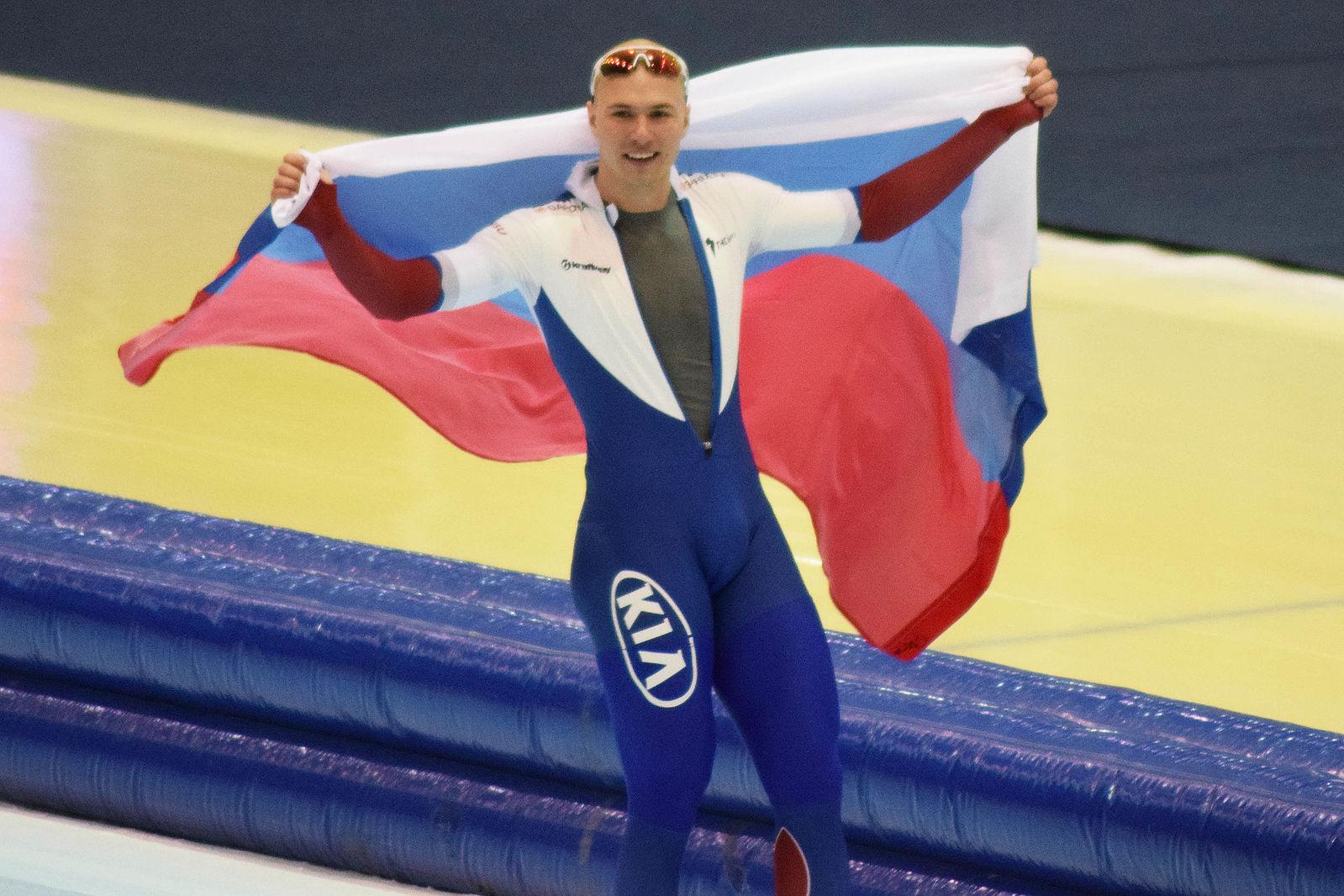 Speedskating World Champion Pavel Kulizhnikov of Russia is among those who have tested positive for meldonium. (Photo: Wikipedia Commons)