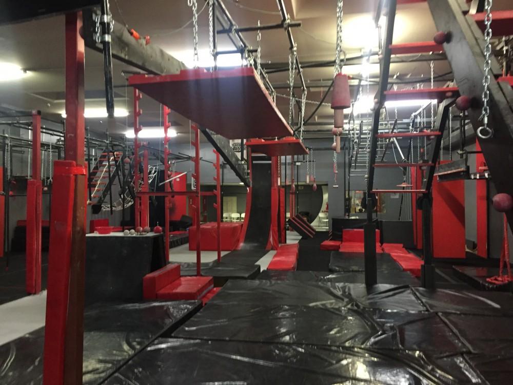 An American Ninja Warrior gymnasium Reid Pletcher trained at in Salt Lake City, Utah. (Photo: Courtesy Photo)