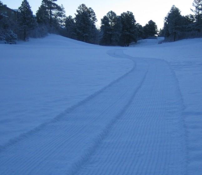 Groom your own XC ski trail.
