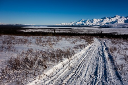 The freight trail that White River to Chisana. Photo: Seth Adams