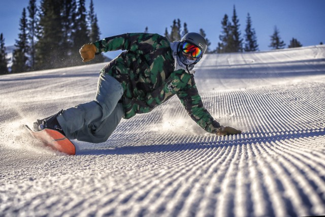 Snowboard Groomer