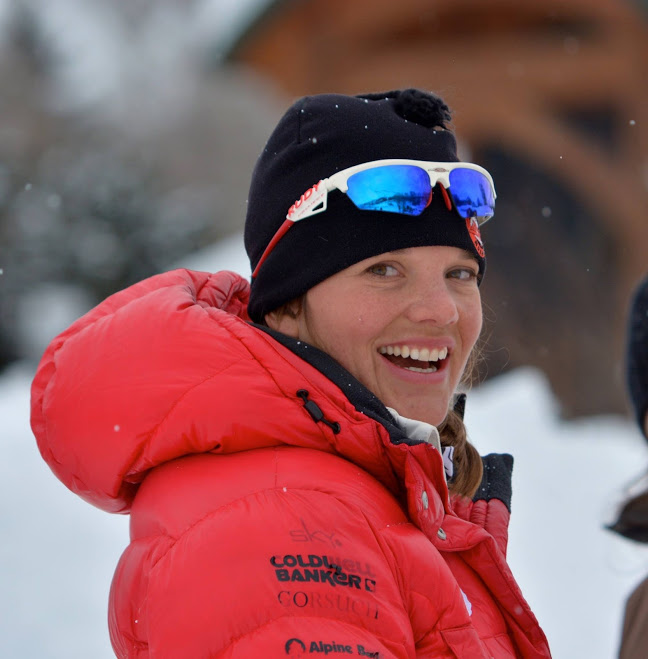 Maria Stuber has spent the last three years coaching at the Aspen Valley Ski and Snowboard Club in Colorado. (Courtesy photo)